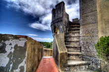 HDR Image Of Steps In Pena Palace