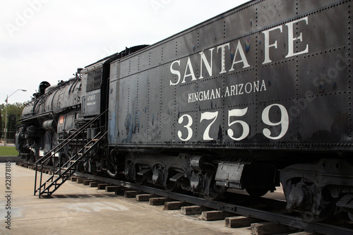 Foto op Canvas Route 66 Dampflok in Kingman/Arizona