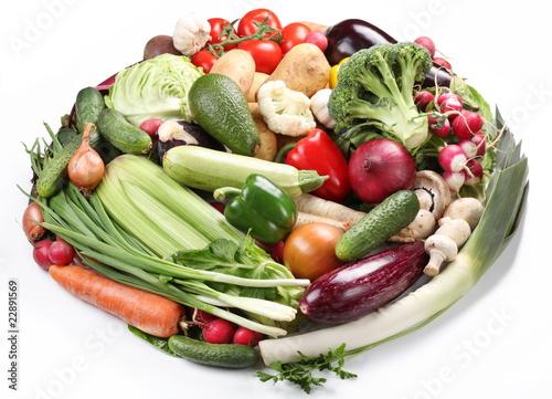 Fototapeta Vegetables obraz na płótnie