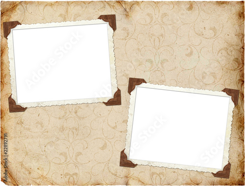 In de dag Retro Vintage background with frames