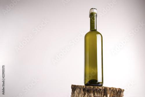 Bottiglia di vino Canvas Print