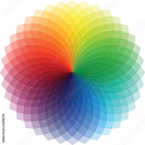 Poster Psychedelique Rainbow