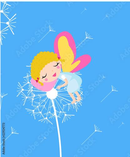 Photo  Sleeping fairy