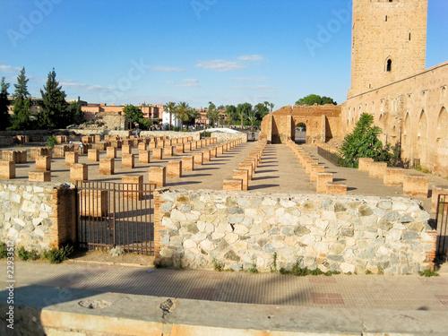 In de dag Marokko marrakech