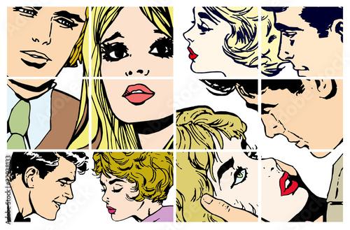 zbior-ilustracji-z-zakochanymi-parami