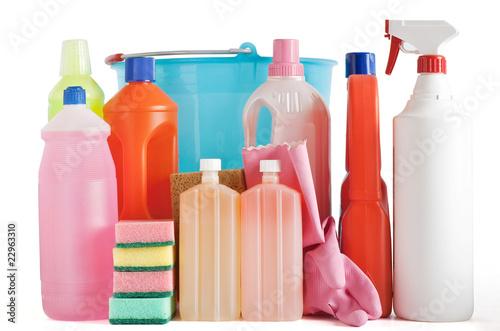 Fotografie, Obraz  prodotti per pulizia domestica
