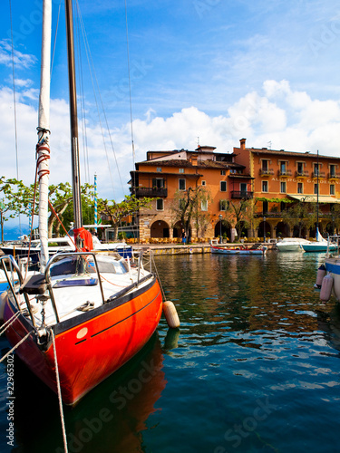Photo  Torri del Benaco, Gardasee