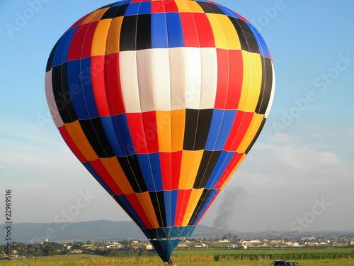 transporte balão