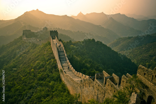 Photo sur Toile Muraille de Chine Great Wall