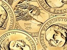 One Golden  Dollar Coin