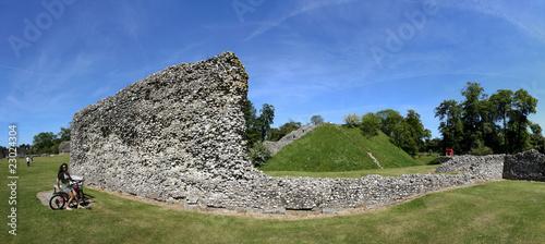 Photo  berkhamsted castle panorama
