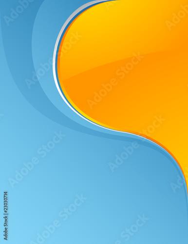 Fototapeta Blue_and_yellow obraz na płótnie