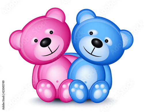 Teddy bear couple #23045749