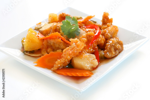Photo  Sweet and Sour Pork