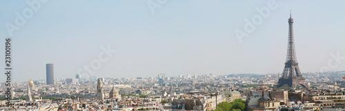 Papiers peints Paris panorama Parigi