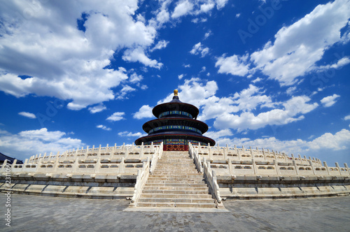 Recess Fitting Beijing Temple of Heaven in Beijing