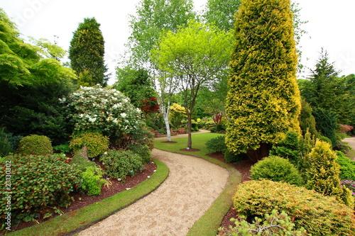 Foto op Canvas Tuin Lovely spring garden
