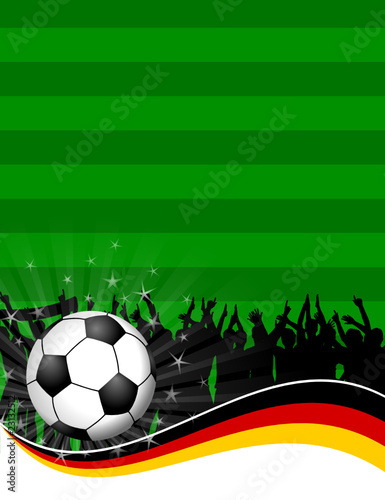 Plakat Fussball Feld Deutschland Vi Kaufen Sie Diese
