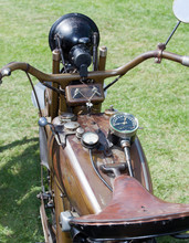 Altes Motorrad, USA