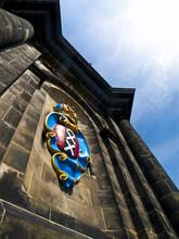 Amsterdam Coat Of Arms In The Westerkerk Church