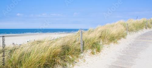 Keuken foto achterwand Noordzee Idyllischer Tag an der Nordsee im Sommer