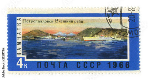 Canvas Prints Inspirational message Postage stamp.