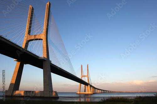 Photo  Ponte Vasco da Gama in Lisboa (Portugal)