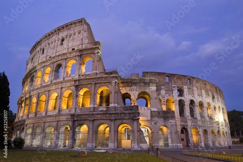 In de dag Rome Colosseum