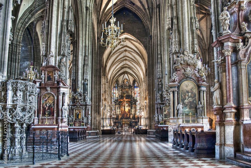 Fototapety, obrazy: Cathedral St. Stephen