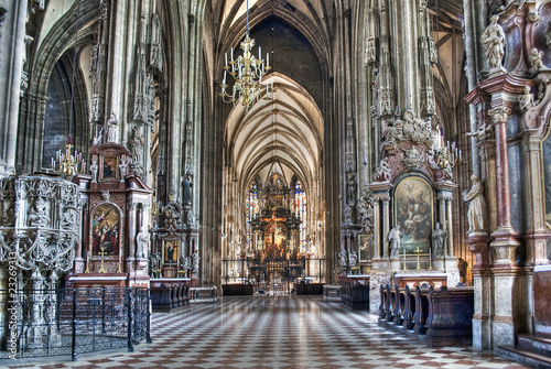 Photo sur Aluminium Vienne Cathedral St. Stephen