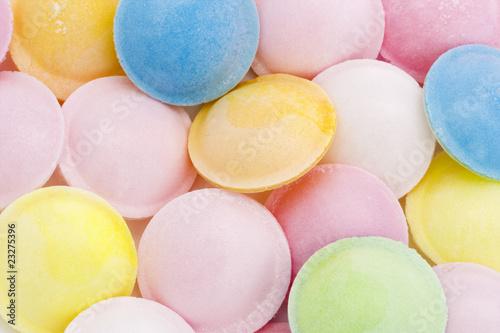 Obraz na płótnie background of flying saucer sweets