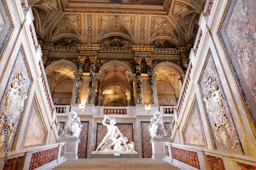 Upstair in a Kunsthistorisches museum, Vienna
