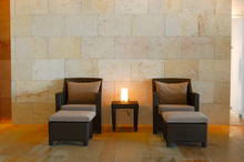 Relaxation Chairs At Modern SPA, Crete, Greece