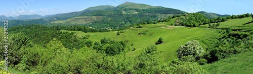 Fotografie, Obraz  Panorama du Grand Ballon dans les Vosges.