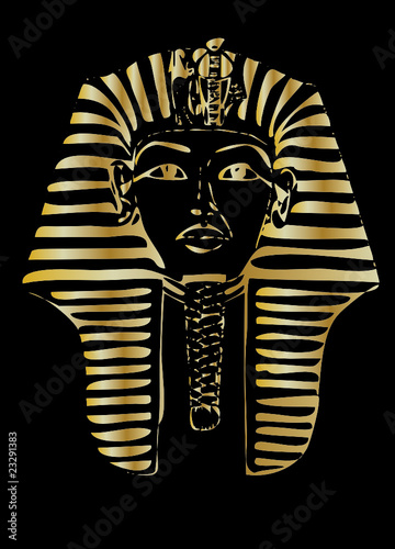 golden pharaoh vector #23291383