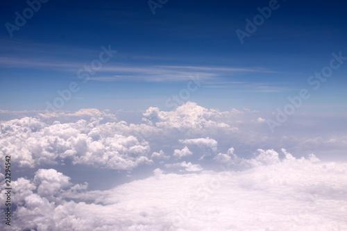 Photo  Nuages à 10 000 mètres d'altitude