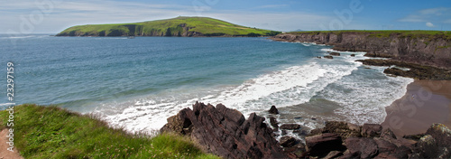 scenic irish nature landscape west of ireland - 23297159