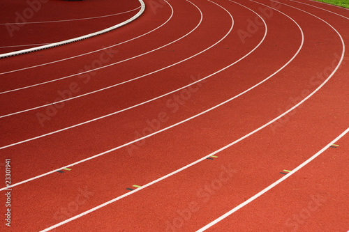 Fotografiet  athletic track