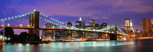 Canvas Prints Brooklyn Bridge New York City