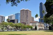Honolulu Skyline