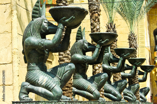 Tuinposter Egypte god of egypt