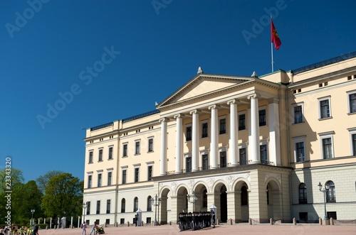 Guards at The Royal Palace Oslo, Norway