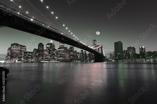 Wall Murals New York Downtown Manhattan skyline