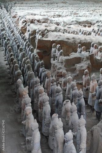 Papiers peints Xian Statues de Xi'An