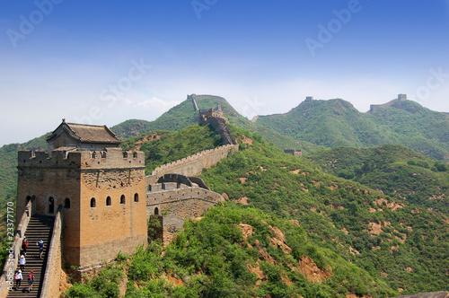 Great Wall of China Fototapeta