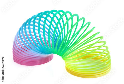 Multi-Colored Spring Toy