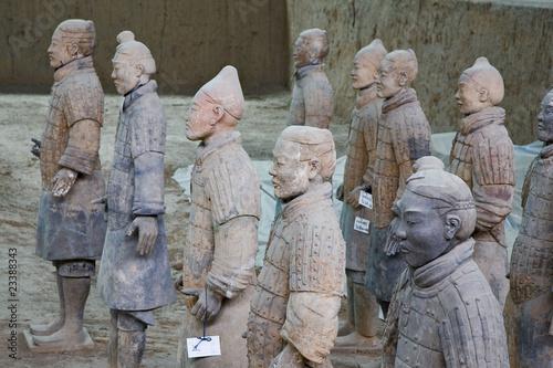 Foto op Plexiglas Xian chine; xi'an : armée enterrée