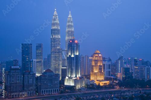 Canvas Prints Kuala Lumpur panorama, kuala lumpur