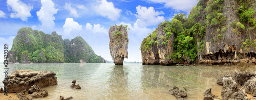 James Bond Island, Phang Nga, Thailand Canvas Print