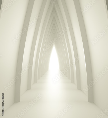 blyszczac-korytarz-z-lukowatymi-kolumnami